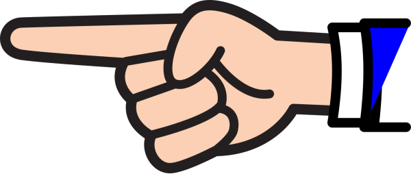 Pointing Finger PNG Clip art