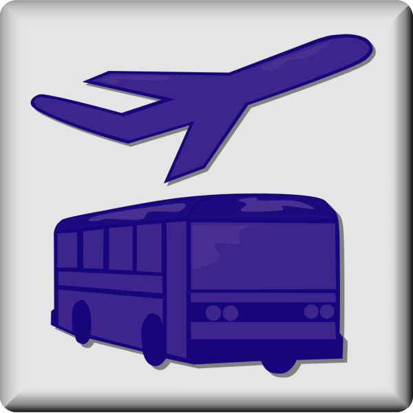 Hotel Icon Airport Shuttle PNG Clip art