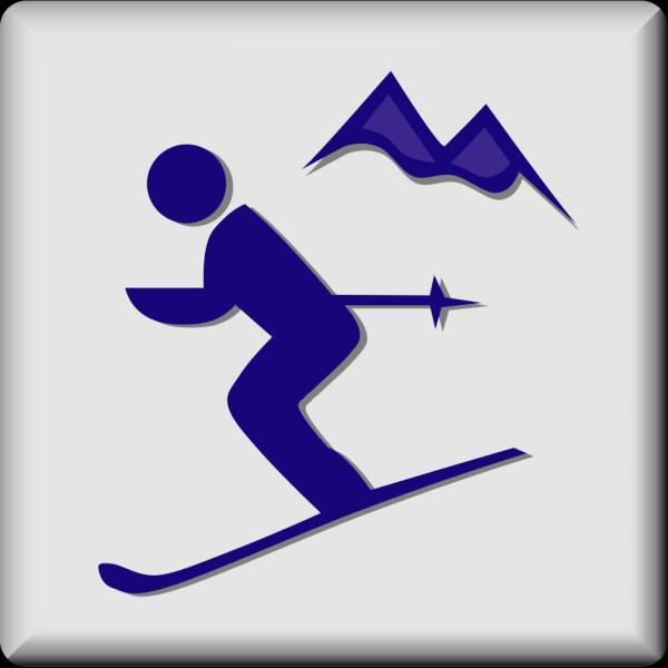 Hotel Icon Ski Area PNG Clip art