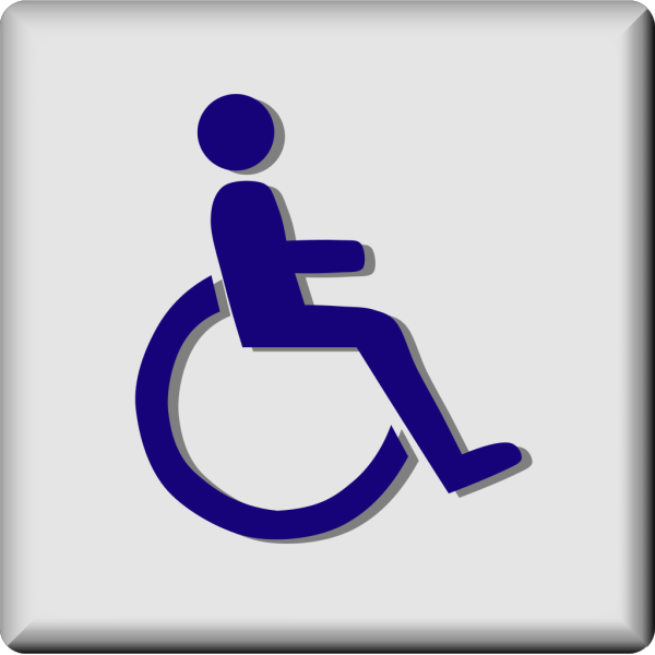Hotel Icon Wheelchair Access PNG Clip art
