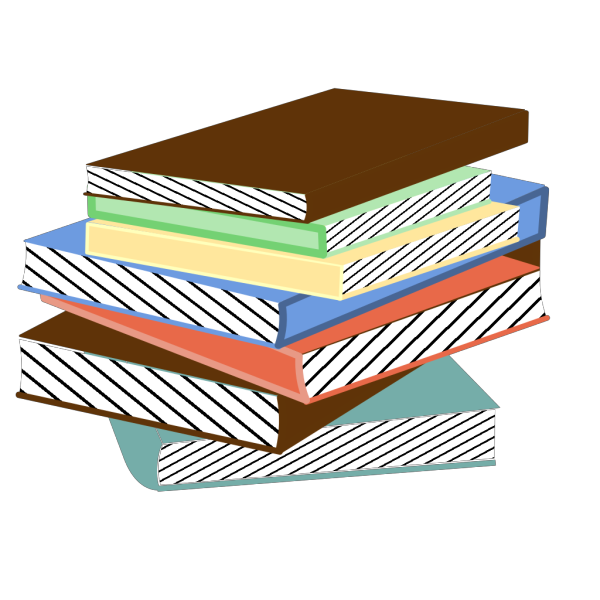 Stack Of Books PNG Clip art