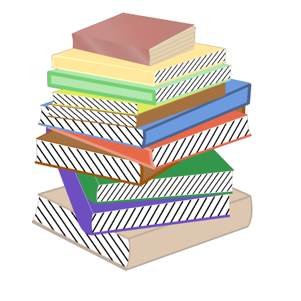 Stack Of Books, Taller PNG Clip art
