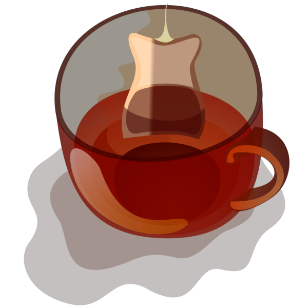 Glass Mug Of Tea PNG clipart