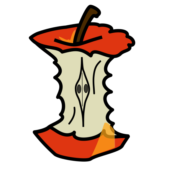 Apple Core PNG Clip art