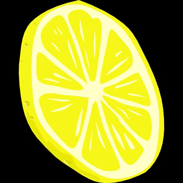 Lemon (slice) PNG Clip art