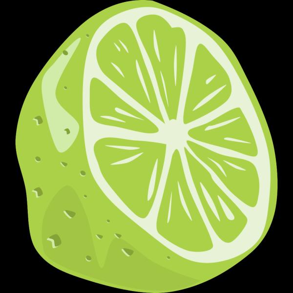 Half Lime PNG Clip art