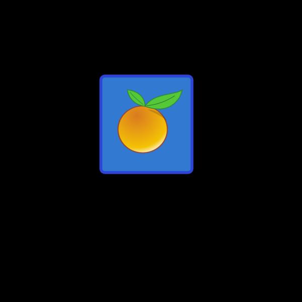 Tile Orange PNG Clip art
