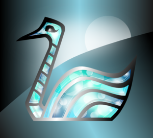 Abstract Swan PNG Clip art