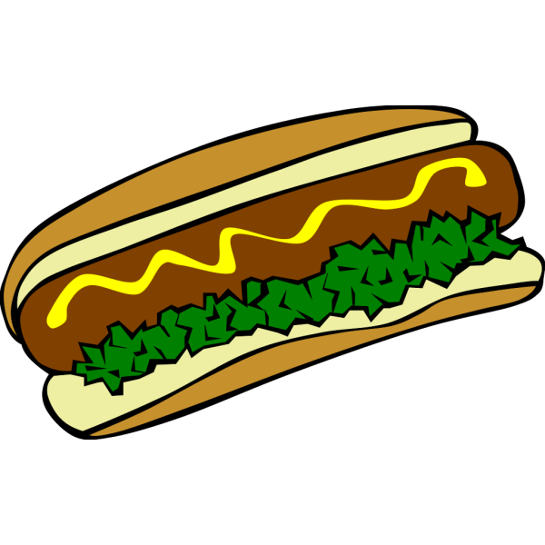 Hot Dog PNG Clip art