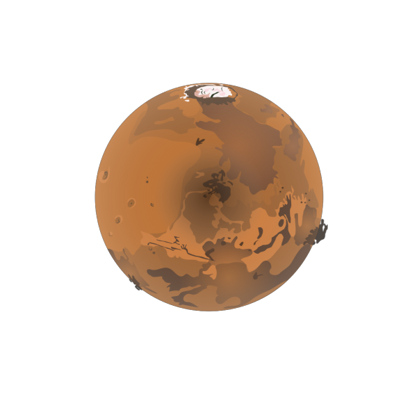Mars PNG icons