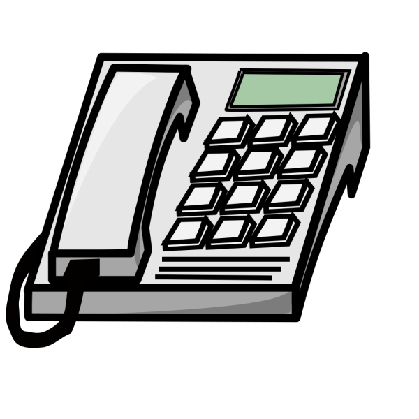 Office Phone PNG Clip art