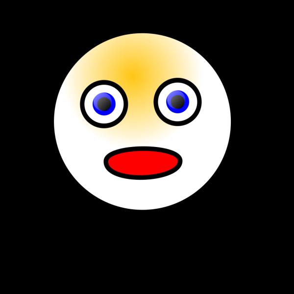 Smiley Shocked PNG Clip art