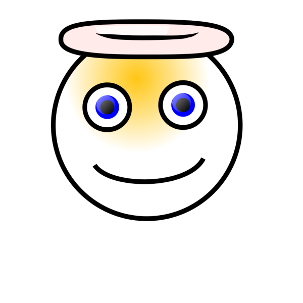 Smiley Angel PNG clipart