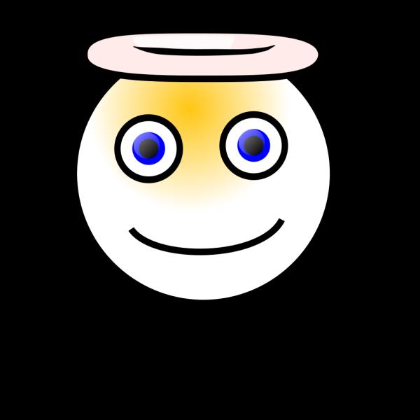 Smiley Angel PNG Clip art