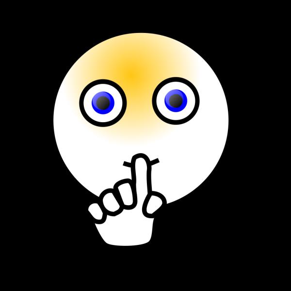 Shoosh Shoo Smiley PNG Clip art