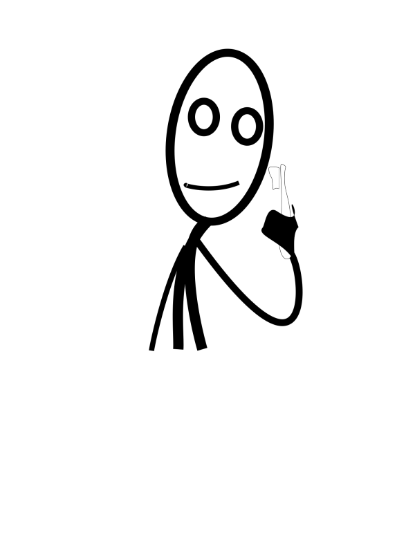 Stick Man 5 PNG Clip art
