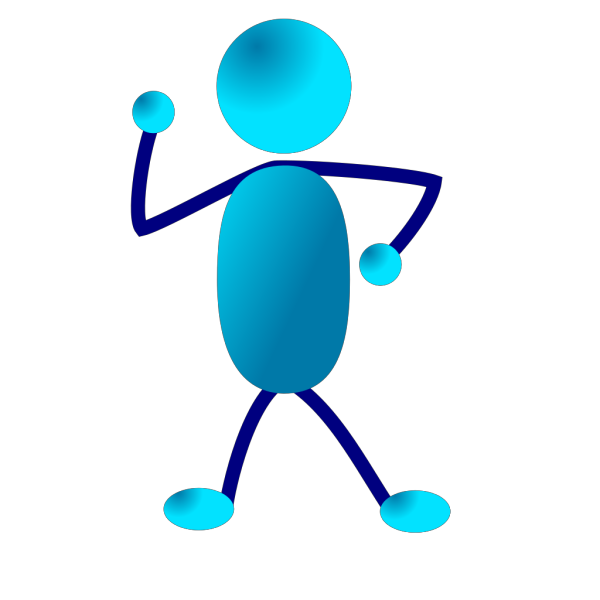 Stick Man Thinking PNG Clip art