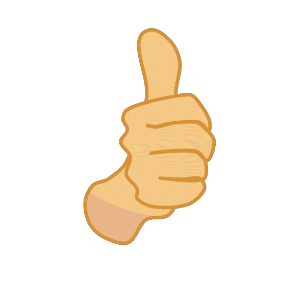 Thumbs Up 3 PNG icon