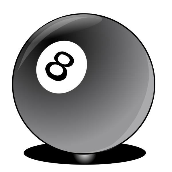 8 Ball PNG clipart