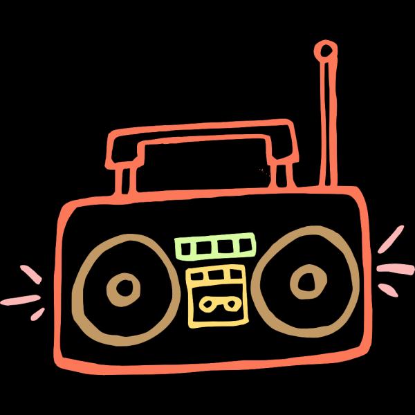 Boombox PNG Clip art