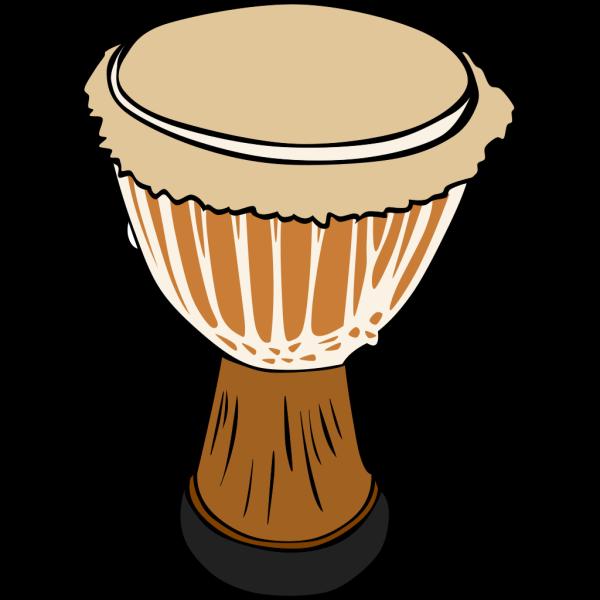 Djambe Drum PNG Clip art