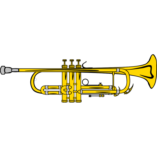 Pocket Trumpet B Flat (colour) PNG images