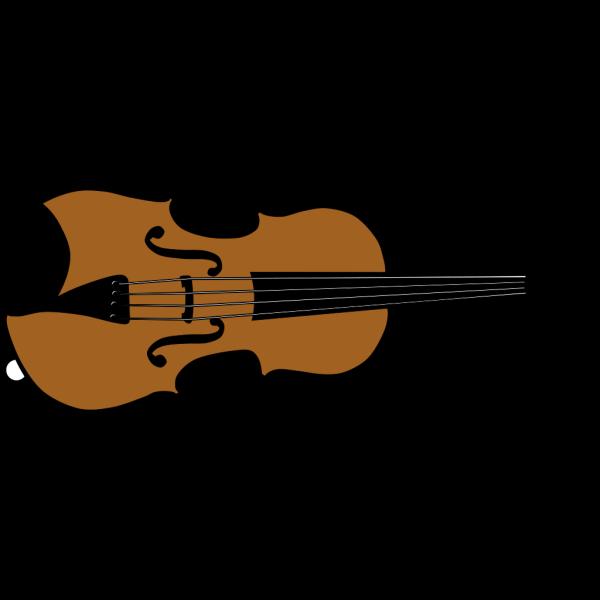 Violin (colour) PNG Clip art