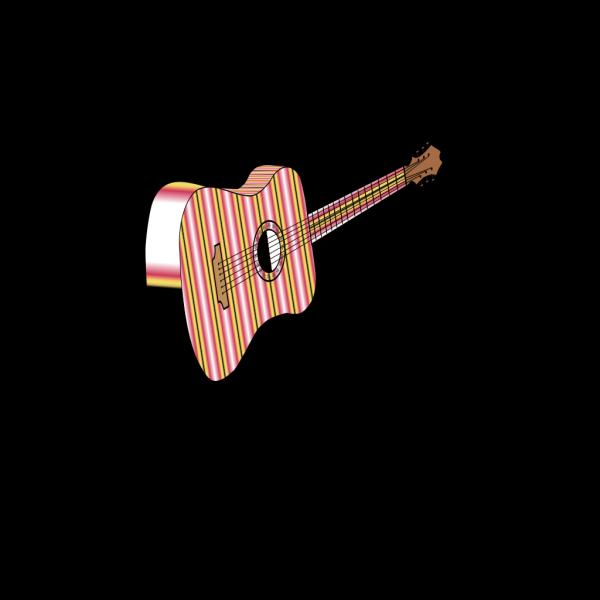 Guitar Profile PNG Clip art