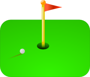 Golf Flag + Ball PNG images