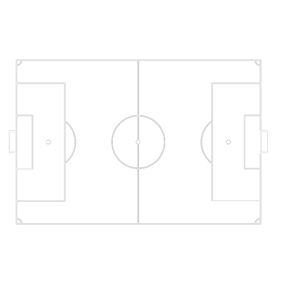 Football Pitch PNG Clip art