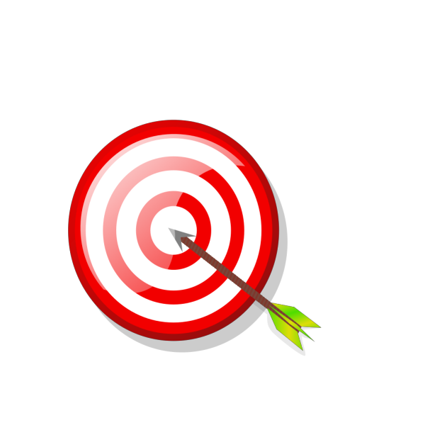 Target With Arrow PNG Clip art