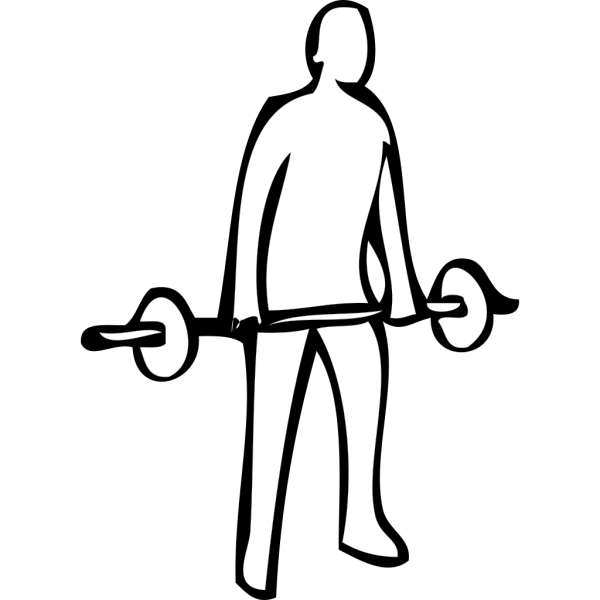Weight Lifting 2 PNG clipart