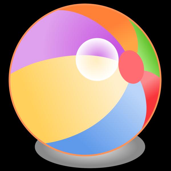 Beachball V PNG Clip art