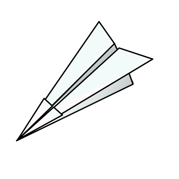 Toy Paper Plane PNG Clip art