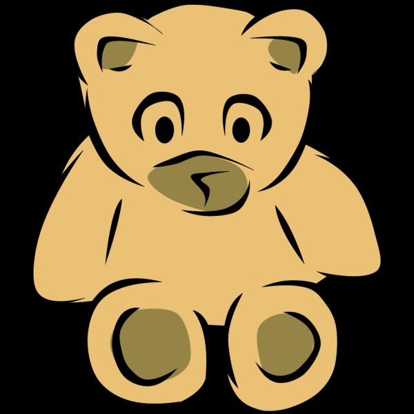 Stylized Teddy Bear PNG Clip art