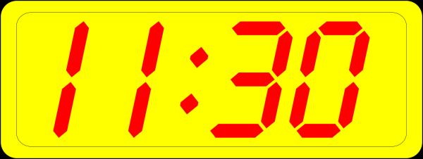 9 O Clock PNG Clip art