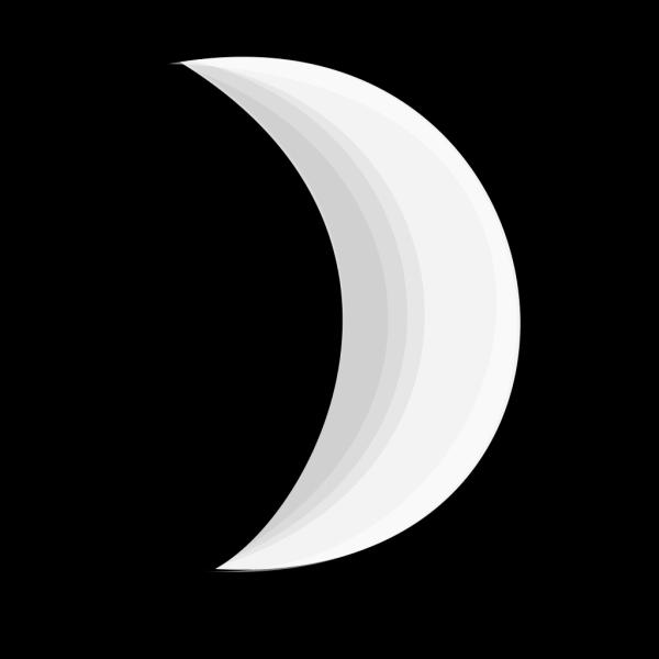 Moon Crescent 2 PNG Clip art