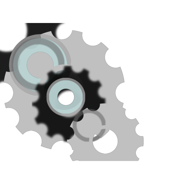 Gears Motion Motor Engine PNG Clip art