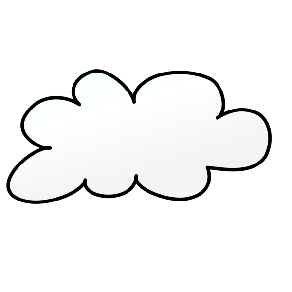 Cloud Outline PNG icon