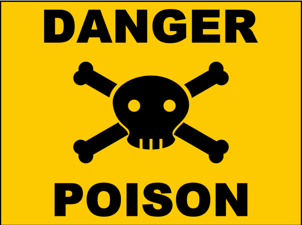 Poison Bw PNG Clip art