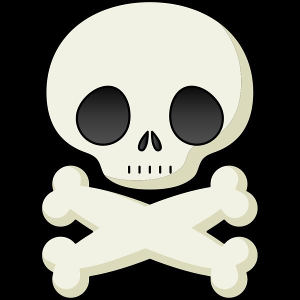 Cute Skull PNG Clip art