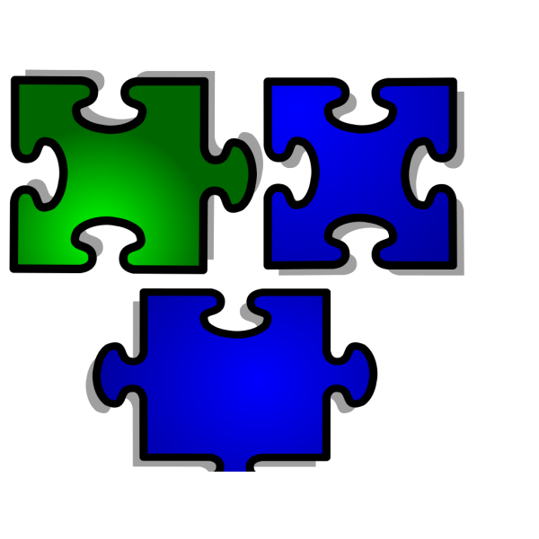 Jigsaw 1 Pattern PNG Clip art