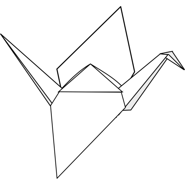 Origami Crane PNG images