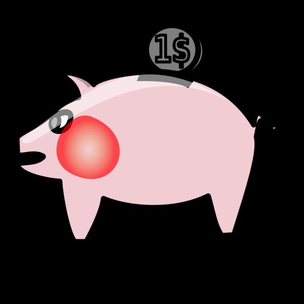Piggybank PNG Clip art