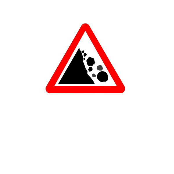 Falling Rocks PNG images