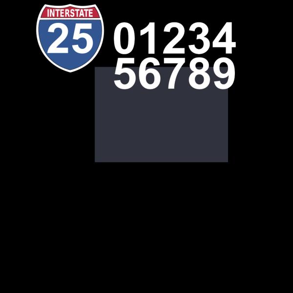 Interstate Highway Sign PNG Clip art