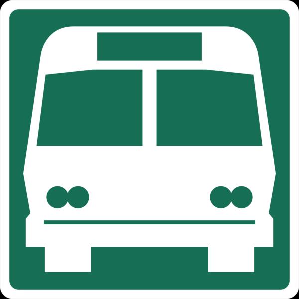 Bus Road Sign PNG Clip art