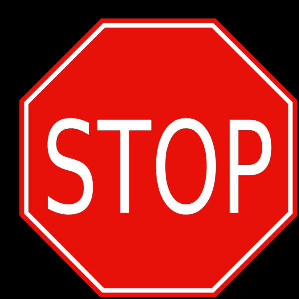 Stop Sign 1 PNG Clip art