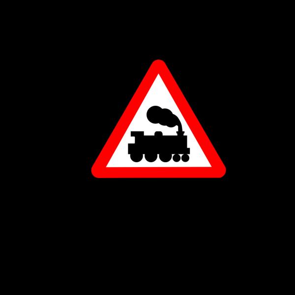 Train Road Signs PNG Clip art