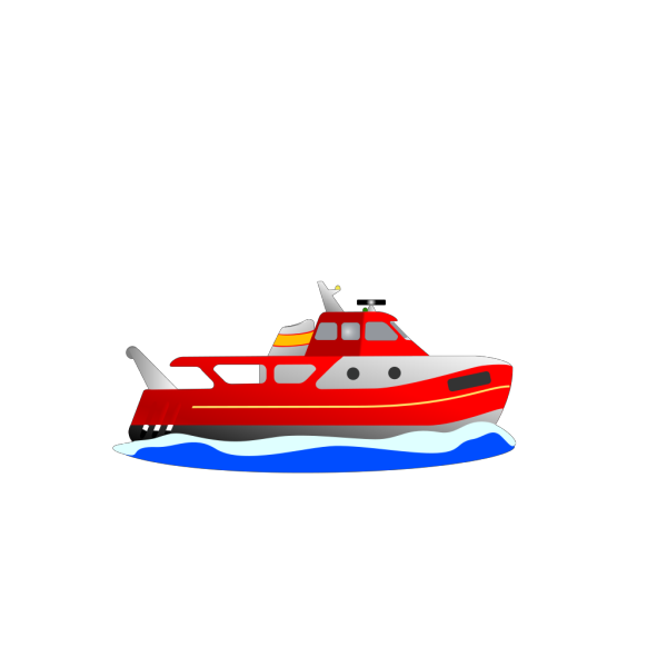 Trawler PNG Clip art